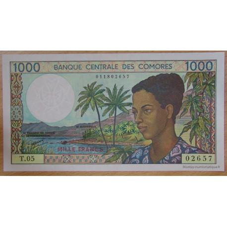 Les Comores - 1000 Francs 1994 Banque Centrale des Comores