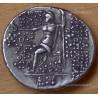 Tétradrachme Cléopâtre Théa et Anthiochus VIII Grypus -121-120