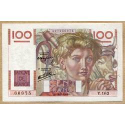 100 Francs Paysan 19-12-1946 Y.163