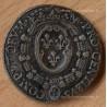 Jeton Charles IX Chambre des comptes de Dijon 1565