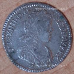 Louis XIV 1/12 d'Ecu à la méche longue 1659 I